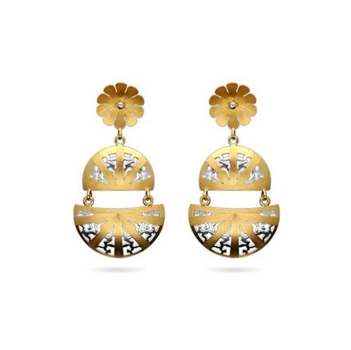Designer Semi Circle Earrings