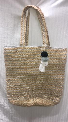 Handcrafted Jute Braided Bags
