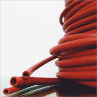 Red Color Natural Rubber Tubing