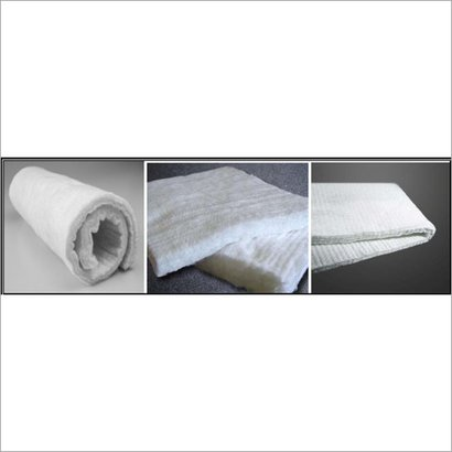 White E-Glass Needle Mat
