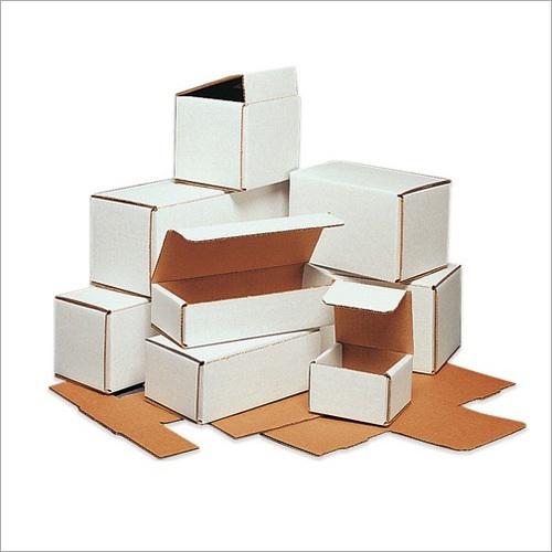 White Mono Corrugated Box