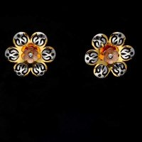 Flower shaped Gold Tops
