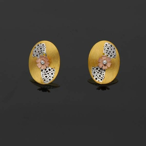 Oval Shaped Gold Tops