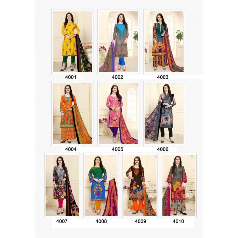 PRINTED COTTON UNSTICHED MATERIAL SELLER