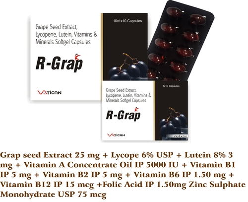 R-GRAP SOFTGEL CAPSULE