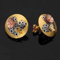 Designer Heart Gold Tops