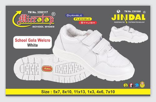 School Gola Welcro White