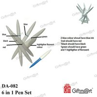6 in 1 Pen Set