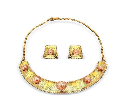 Designer Laser Necklace Set