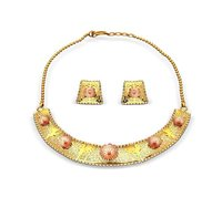 Designer Laser Necklace Set
