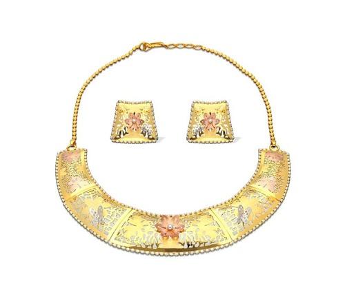 Semi Circle Shaped Necklace