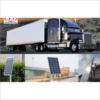 Solar Powered Platform Weighbridge