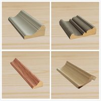 Hot Sell Ceiling Ornaments Wood Crown Moulding