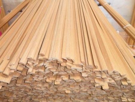 Primed Pine Wooden Baseboard Board