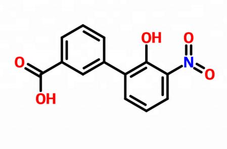 3-(2-hydroxy-3-nitrophenyl)benzoic acid 376591-95-6 organic materials