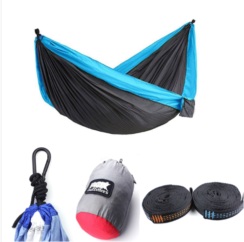 Light Weight Nylon Double & Single Hammock for Camping