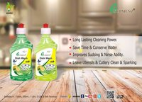 Dish wash manual ceaning