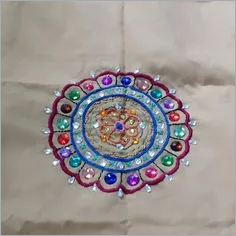 Pillow embroidery cover