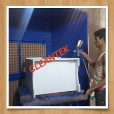 Spray Paint Booth