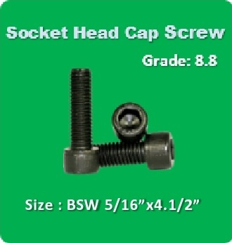 Socket Head Cap Screw BSW 5 16x4.1 2