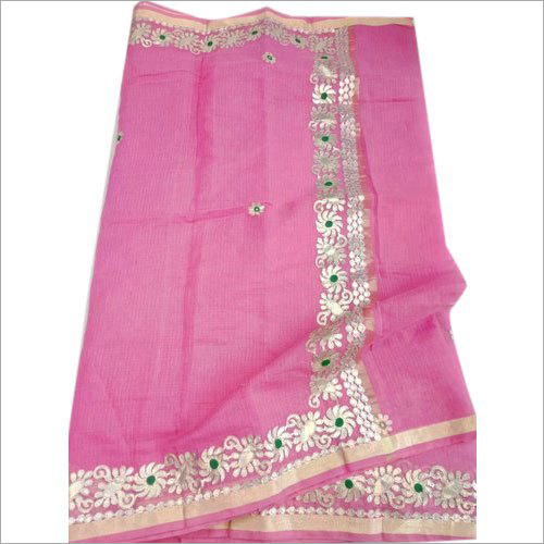 Ladies Gota Patti Work Saree