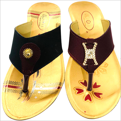 Ladies Regular PU Slippers