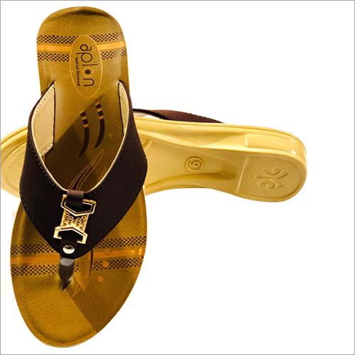Ladies Fancy PU Slippers