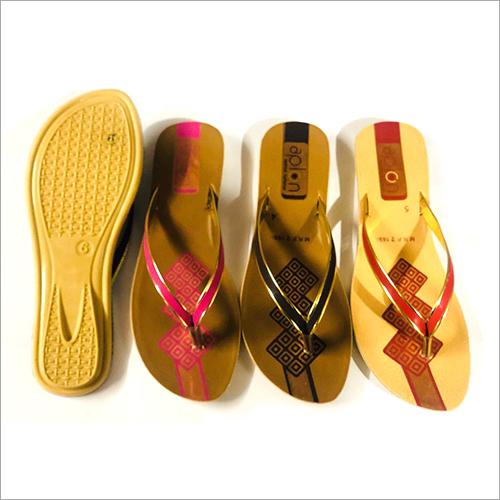 Ladies PU Casual Slippers