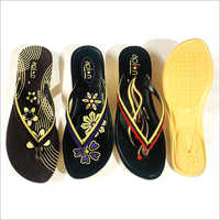 Ladies PU Slim Slippers