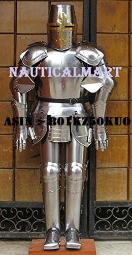 NauticalMart Armor Medieval Knight Crusader Full Suit of Armor Collectible Wearable Costume