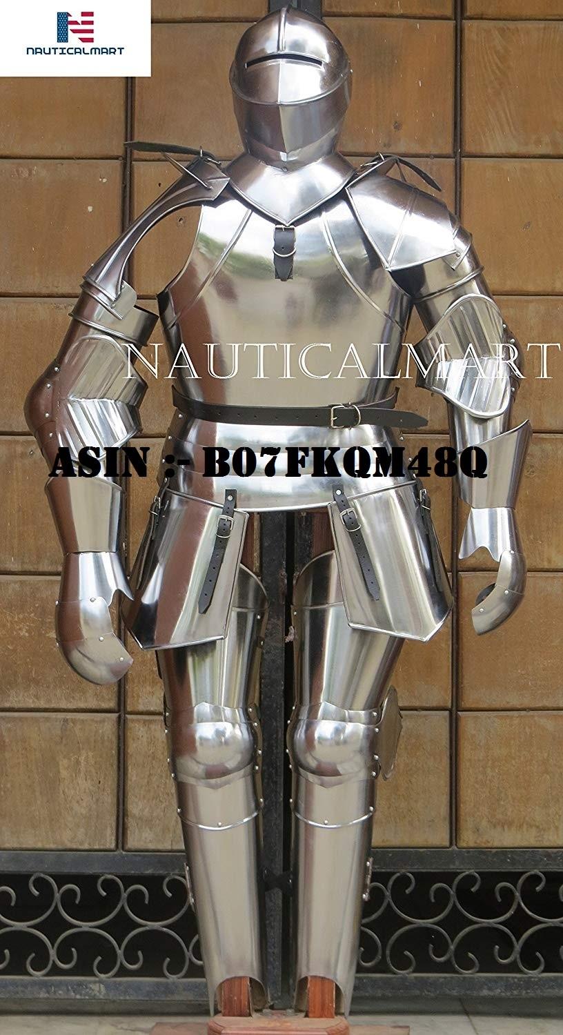 NAUTICALMART Medieval Knight Suit of Armor Combat Full Body Armour Collectible Halloween Costume - Custom