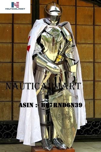 NauticalMart Knight Suit of Armor Combat Full Body Armor Halloween Costume Men's Costumes