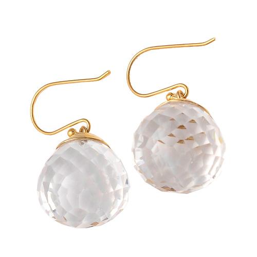 Crystal Gemstone earrings