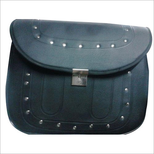 Bike Leather Side Bag