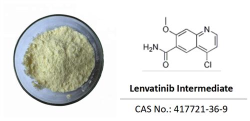 Lenvatinib intermediates 417721-36-9, 4-chloro-7-methoxyquinoline-6-carboxamide