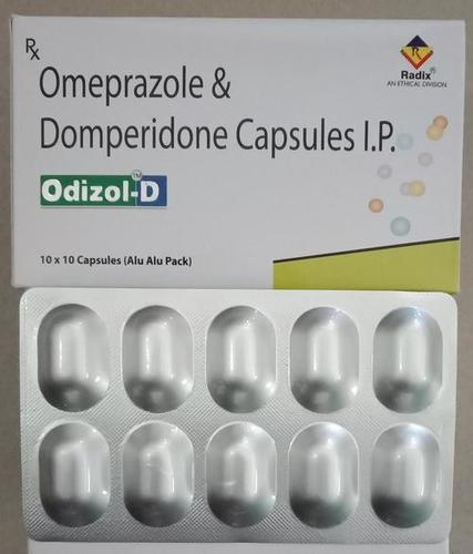 Omeprazole 20 mg & Domperidone 10 mg