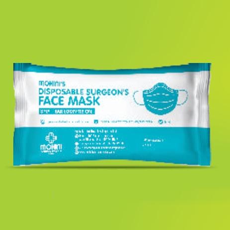 Disposable Surgeons Face Mask