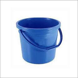 Light Blue Plastic Bucket