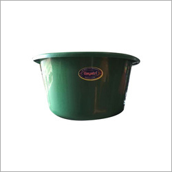 Plastic Green Tub