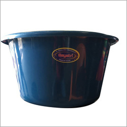Blue Plastic Tub