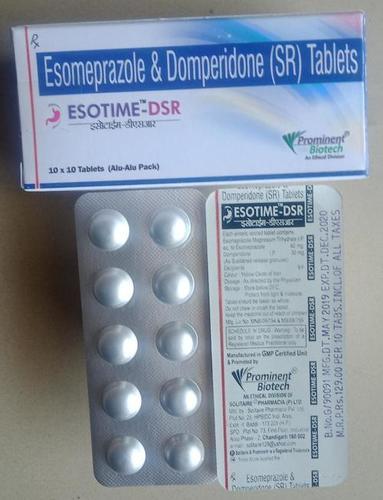 Esomeprazole Magnesium 40 Mg & Domperidone 30 Mg