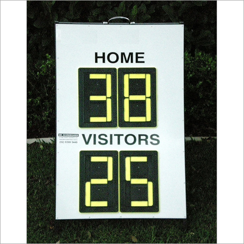 Manual Scoreboards