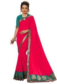 Satin Daily Wear Saree