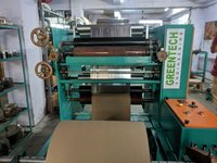 Paper Plate Lamination and Slitting Machine