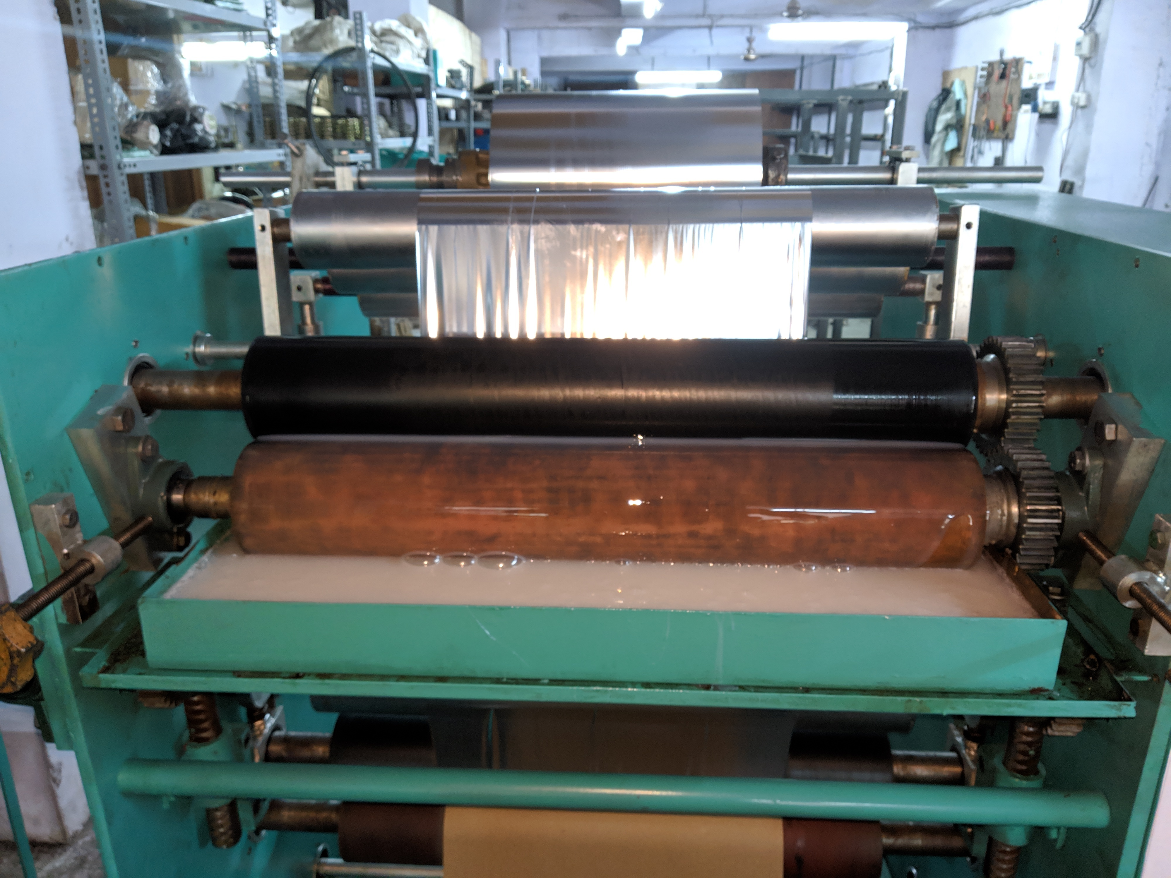Paper Plate Lamination and Slitting Machine
