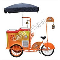 Umbrella Ice Cream Cart
