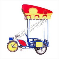 Alloy Cart With Cycle Wheel Cover
