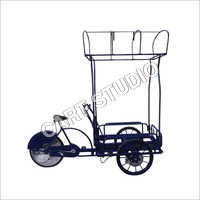 Hart Rubber Tyres Cart with Ozse Brakes