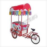 Tricycle Deluxe Cart with Regular Canopy