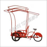 Alloy Wheel Ice Cream Cart